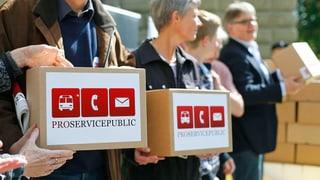 Null Stimmen für «Pro Service public» im Nationalrat
