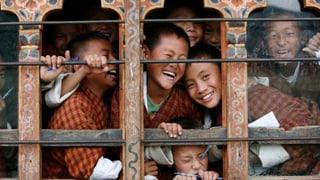 Bhutan misst das Bruttonationalglück