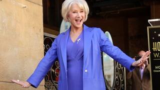 «Ich bin so stolz!» Helen Mirren bekommt Stern auf «Walk of Fame»