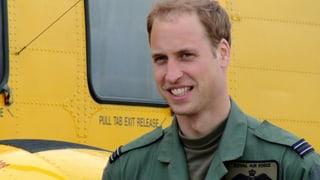 Fertig Baby-Pause: Prinz William muss wieder arbeiten