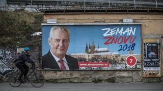 Wer kann Zeman das Amt streitig machen?