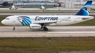 Vermisstes ägyptisches Flugzeug wohl abgestürzt