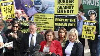 Boris Johnson stösst auch in Nordirland auf Kritik