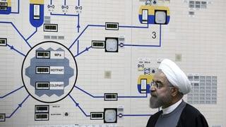 Iran: «Halten uns nicht mehr an Limit zur Urananreicherung»