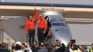 Solar Impulse 2 è sa platgà en Egipta