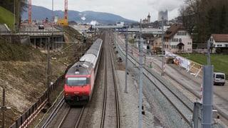 Zugsausfälle zwischen Zürich und Aarau