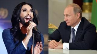 Conchita Wurst: «Ich würde gerne eine Woche mit Putin verbringen»