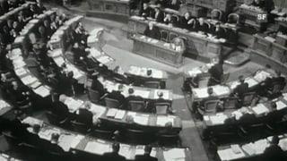 Archivperle: «Unser Parlament» (Artikel enthält Video)