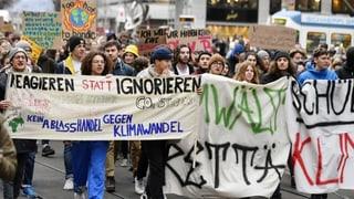 Klima-Demo statt Schulbank