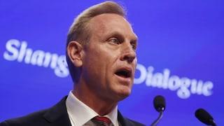 Neuer US-Verteidigungsminister kritisiert Peking deutlich