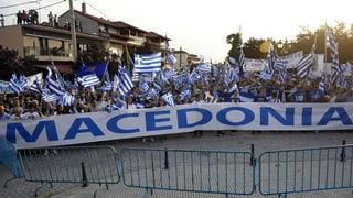 Griechenland und Mazedonien finden einen Kompromiss. Mazedonien nennt sich in Zukunft Nord-Mazedonien.