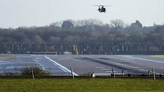 Flughafen London Gatwick lahmgelegt