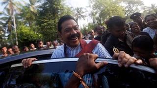 Warten auf das Wahlergebnis in Sri Lanka
