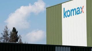 Komax meldet deutlich höheren Umsatz und Gewinn