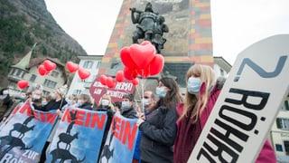 Gotthard: Urner vertrauen dem Bundesrat