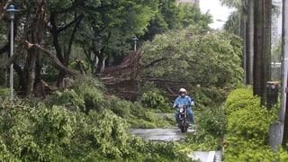 Taiwan: Taifun fordert Opfer
