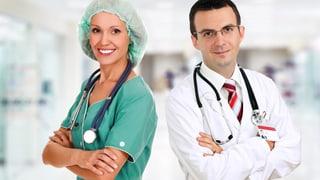 Weshalb Ärzte im OP grün sehen