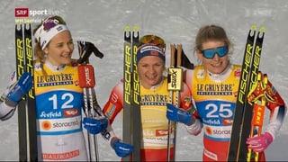 Naginas medaglias en il sprint per la Svizra