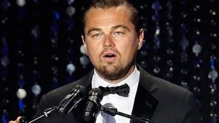 Klimasünder: Leonardo DiCaprio holt Umwelt-Preis per Privatjet ab