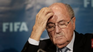 Sepp Blatter im Spital