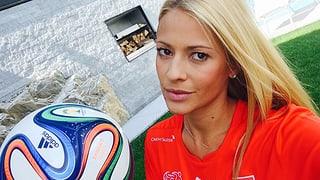 Promis im Fussball-Fieber: Rigozzi grilliert sich durch die WM