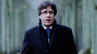 Spanien sistiert Europäischen Haftbefehl gegen Puigdemont