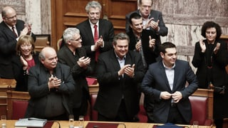 Griechisches Parlament steht hinter Tsipras