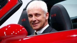 Matthias Müller übernimmt das VW-Steuer