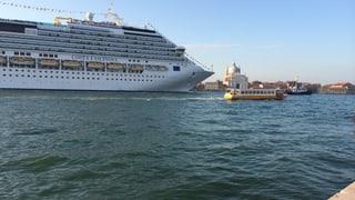 Venedig treibt seinen Untergang voran