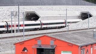 Der Gotthard-Basistunnel im grossen Belastungstest
