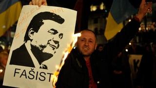 Janukowitsch wegen «Massenmordes» gesucht