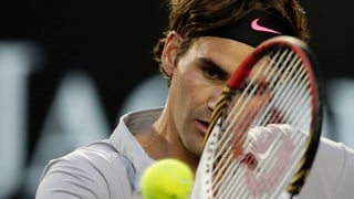 Federer überzeugend in Achtelfinals