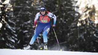 Starker Schweizer Biathlon-Tag in Ruhpolding (Artikel enthält Video)