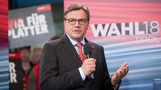 Eine Woche vor dem Urnengang in Kärnten: Die ÖVP bleibt bei den Landtagswahlen im Bundesland Tirol auf Erfolgskurs.
