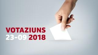 Votaziuns dals 23-09-2018