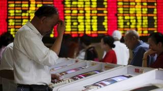 Chinas Aktienmärkte im freien Fall