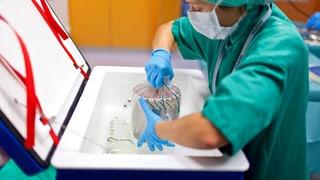 Herztransplantation bleibt in Zürich, Bern und Lausanne