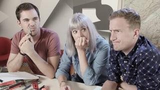 Tina, Fabio und Büssi im Test