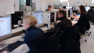 Das Team der Nachrichtenredaktion
