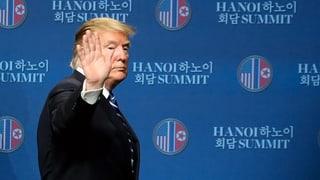 Trump über Kim: «Ich habe Vertrauen in ihn»