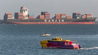 Kollaps des Reederei-Riesen Hanjin: Schweizer Spediteure leiden