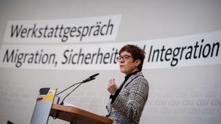 CDU-Spitze fordert Frühwarnsystem für Migration