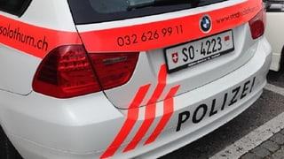 Solothurn will mehr Geld für die Stadtpolizei erkämpfen