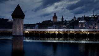 Beleuchtung der Kapellbrücke soll sich nach Fussgängern richten