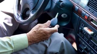 Immer mehr über 69-Jährige müssen Führerschein abgeben