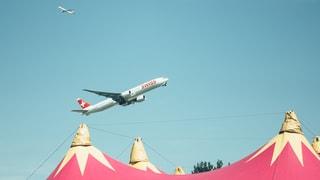 Planespotting am Zürich Openair (Artikel enthält Bildergalerie)