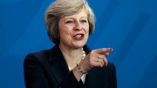 Theresa May setzt auf die Karte Industrie