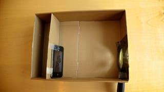 Wir basteln einen Smartphone-Projektor