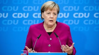 Merkel: «Zu wenig an die Menschen gedacht»