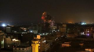 Neue Raketenangriffe auf Israel